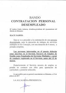 BANDO CONTRATACION