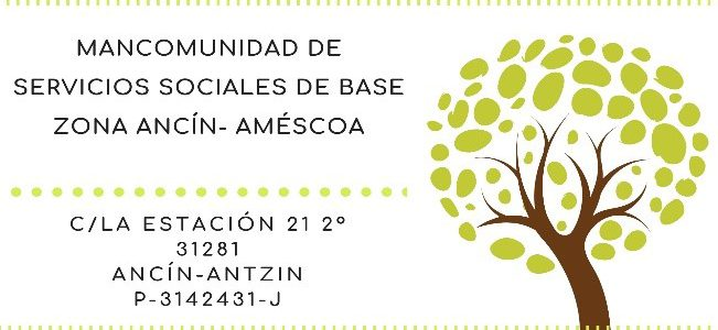 OFERTA DE EMPLEO – MANCOMUNIDAD DE SERVICIOS SOCIALES ANCIN-AMESCOA