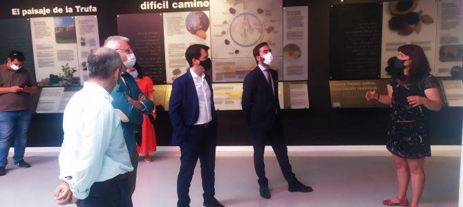Visita institucional al Museo de la Trufa de Metauten en el marco de la promoción de la Vía Verde del Ferrocarril Vasco Navarro